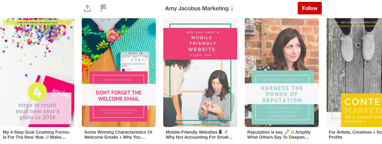 Web Copywriting by Amy Jacobus Marketing